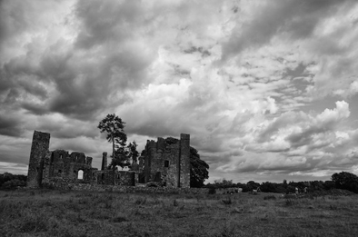 Bective Abbey, the album cover.