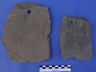 Medieval slates.